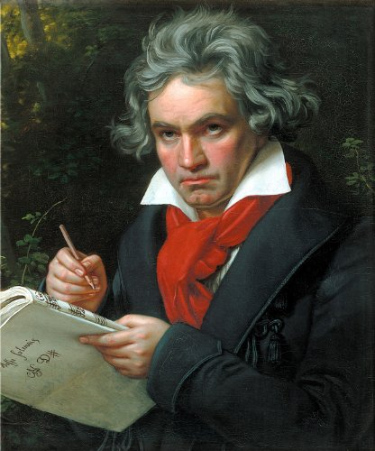 BEETHOVEN GLOSSY POSTER PICTURE PHOTO ludwig van composer pianist music wall