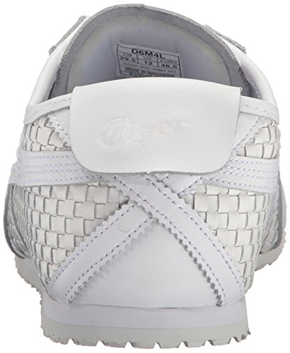 Onitsuka Tiger Mens Mexico 66 Fashion Sneaker Bianco / Bianco