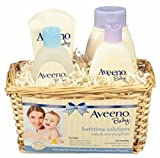 AVEENO Baby Daily Bathtime Solutions Gift Set 1 ea (8 Pack)