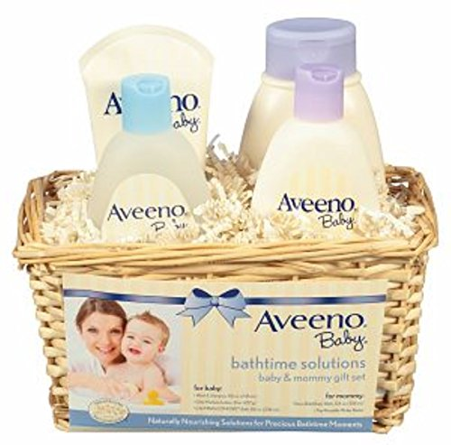 AVEENO Baby Daily Bathtime Solutions Gift Set 1 ea (8 Pack) by Pharmapacks
