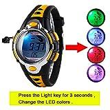 Kid Watch Multi Function Digital LED Sport 50M Waterproof Electronic Digital Outdoor Watches Alarm for Boy Girl Children Gift ¡