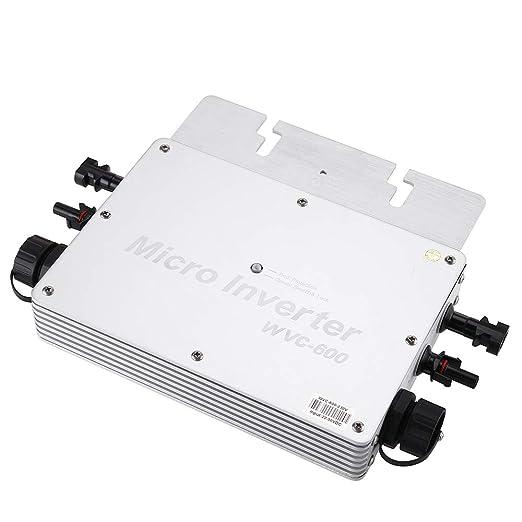 Seesii Micro inversor solar, WVC-600W convertidor de corbata de ...