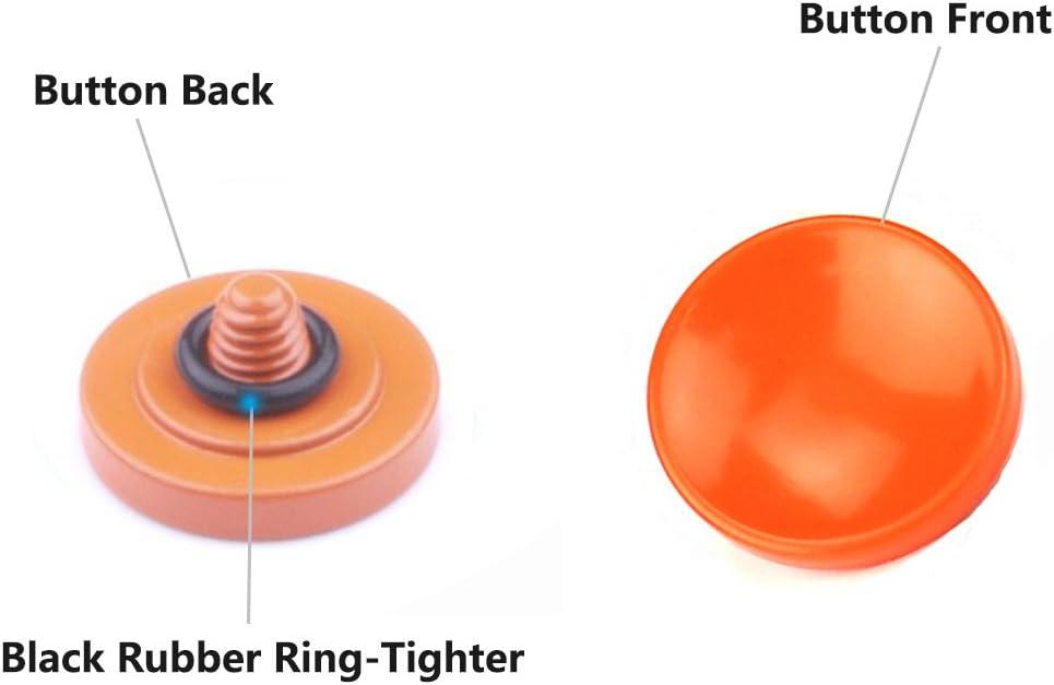 Orange M2 LXH Orange Metal Concave Surface Camera Soft Release Button Finger Touch for Fujifilm XT20 X100F X-T2 X100T X100 X100S X-PRO2 X-T10 X-PRO1 Leica M1 M2 M3 M6 M7 M8 M9 Nikon Df F3