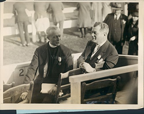 1926 William Manning Bishop John McEntee Bowman Cathedral Horse Press Photo