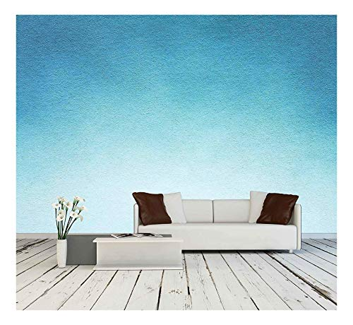 - wall26 - Watercolour Paper Texture for Artwork - Removable Wall Mural | Self-Adhesive Large Wallpaper - 100x144 inches