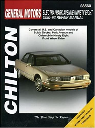 gm electra park avenue ninety eight 1990 93 chilton s total car rh amazon com 1986 Buick Electra Park Avenue 1986 Buick Park Avenue Accessories