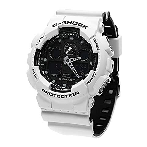 G-Shock GA-100 Military Series Watches - White / One Size (The Hundreds G Shock)