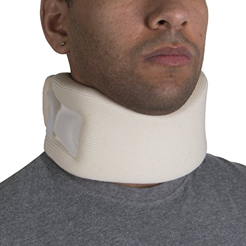 OTC Cervical Collar, Soft Foam, Neck Support Brace, Medium (Average 3