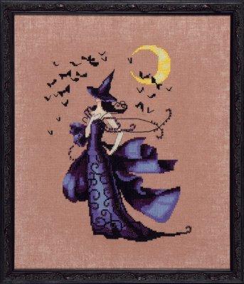 (Raven (Bewitching Pixies) NC222 Cross Stitch Chart)