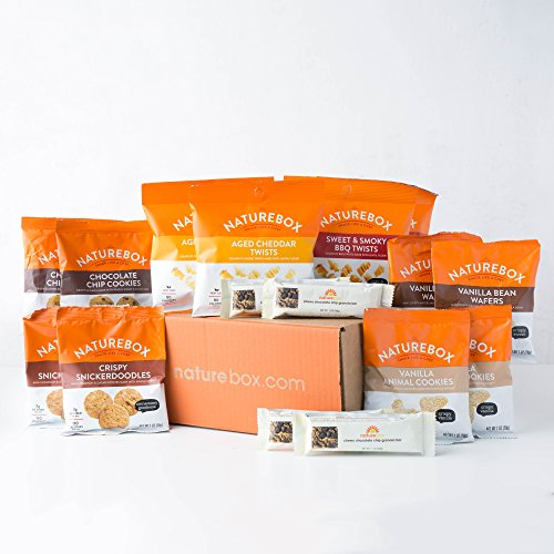 NatureBox Healthy Snacks Care Package Variety Assortment (Care Package) (Package Vending)