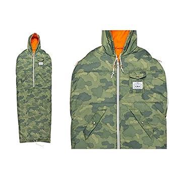 Poler Stuff Reversible Napsack saco de dormir camuflaje/naranja grande: Amazon.es: Deportes y aire libre