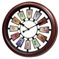Large 16-Inch Wall Decorative Clock for Living Room - Large