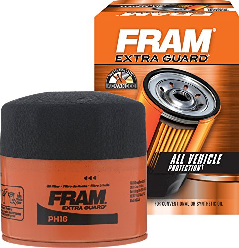 FRAM PH16 Extra Guard Passenger Car Spin-On Oil - Filter Oil Titan