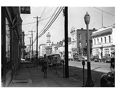 1952 ? Georgetown Kentucky Main Street Factory Photo