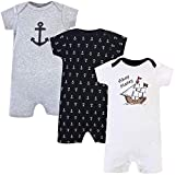 Hudson Baby baby girls Cotton Rompers and Toddler T