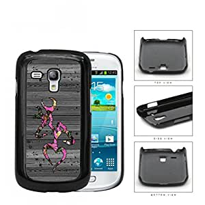 GREY Color Wood Pink Deer Buck Browning Camo Oak #4 Samsung i8190 Galaxy S3 (MINI) Hard Snap on Plastic Cell Phone Case Cover