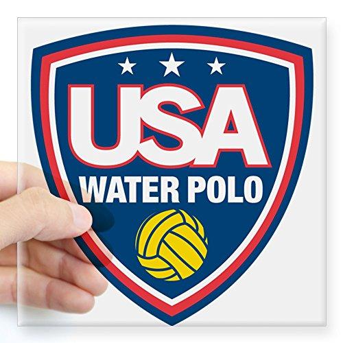 Water Polo Sticker Bumper - CafePress - Water Polo Sticker - Square Bumper Sticker Car Decal, 3