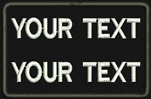 Name Embroidered Patches - 9