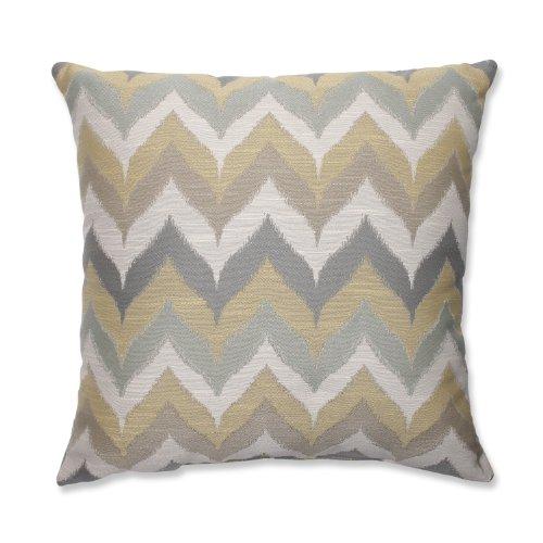 Pillow Perfect Kosala Mist Throw Pillow, 18-Inch, Gold (Mist Pillow)