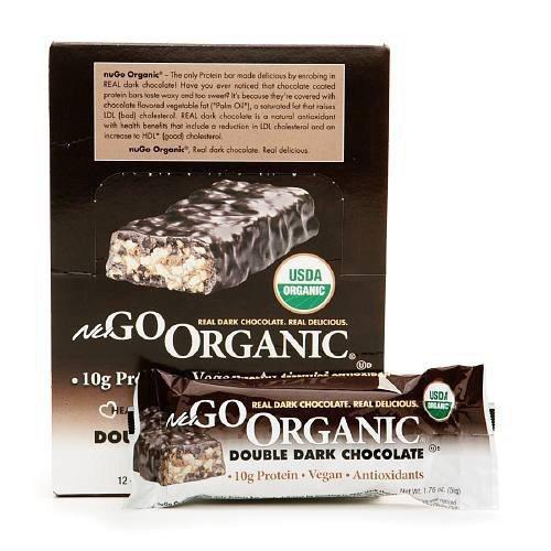 Lifestyle Evolution {Nugo} Bar, Nugo, Og, Dbl Dark Choc, 50-Grams (Pack of 12) (Value Bulk Multi-Pack)