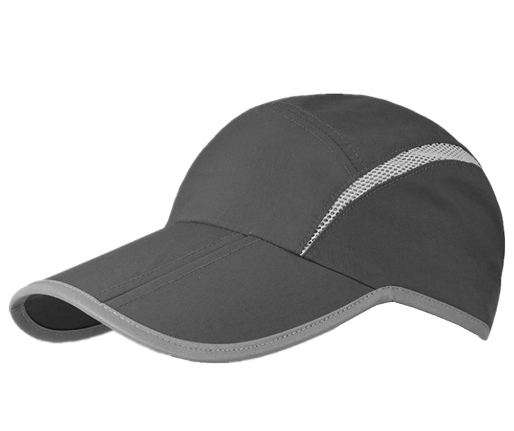0bf1482255a52 GADIEMENSS Reflective Foldable Running Cap Quick Drying Outdoor Sports  UPF40+ product image