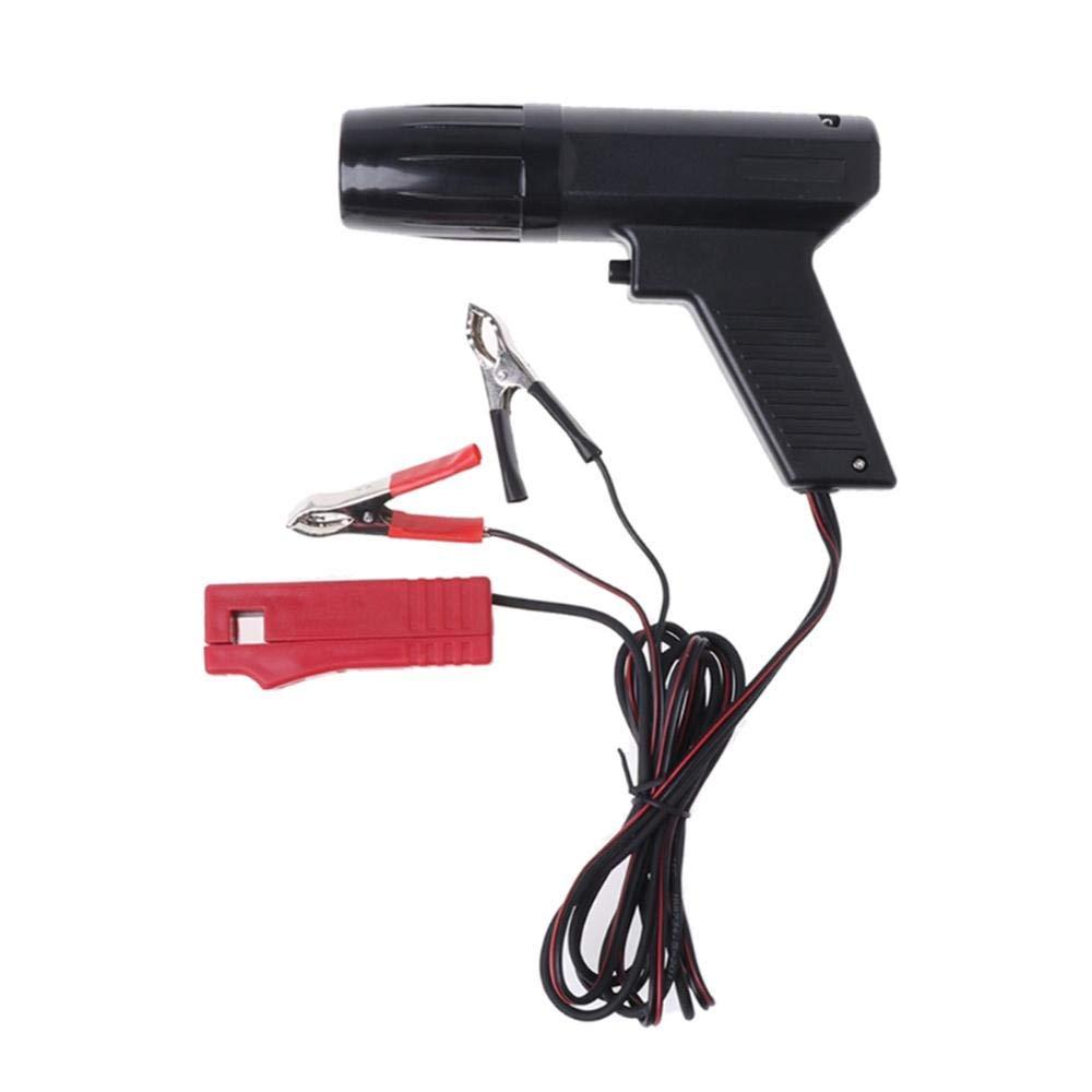 AllureEyes 12V Inductive Ignition Tester Timing Light Gun Ignite Timing Machine Timing Light for Automotive Car Van Motorcycle Ship Repair, Cylinder Power Tester Detector by AllureEyes (Image #4)