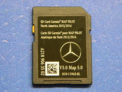 (Mercedes Benz Garmin MAP Pilot SD Card Audio 20 CLA CLS GLE GLA E 2189063502 )