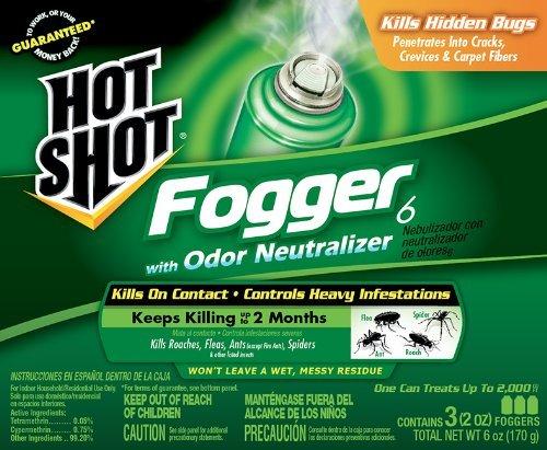 3PK 2OZ Hot Shot Fogger by SPECTRUM GROUP