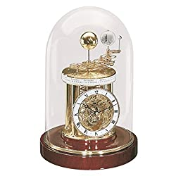 Qwirly ASTROLABIUM Astronomical Clock by Hermle (Mahogany)