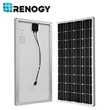 RENOGY® Solar Panel Complete Kit 200W Mono: Two 100W Mono Solar Panel+One 30A PWM Charge Controller+One Battery Inverter 1000W+One Pair of MC4 Branch Connectors+One Pair 20Ft MC4 Solar Adaptor Kit+One Pair 8Ft 10AWG Tray Cable+Two Sets of Z Brackets