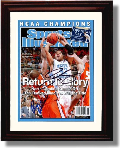 (Framed North Carolina Tarheels