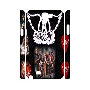 Qxhu Aerosmith patterns Protective Hard Back Fits Cover Case for Samsung Galaxy Note2 N7100 3D case