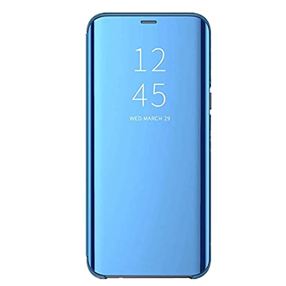 competitive price b668c b31bd Amazon.com: Samsung Galaxy A5 2017 Case, Mirror Smart Flip Case Slim ...