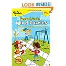 Second Grade Word Puzzles (Sylvan Fun on the Run Series) (Fun on the Run Language Arts)