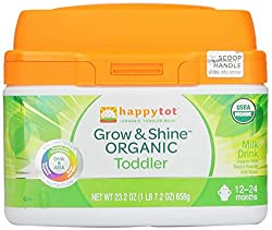 Happy Tot Grow & Shine Organic Toddler Milk, 23.2 Ounce (Packaging may vary)