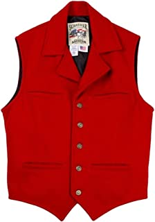 product image for Schaefer Outfitters Men's 805 Cattle Baron Vest Red - 805-Red