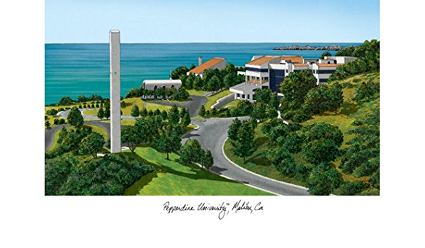 Amazon.com: Campus Images CA944 Pepperdine University Lithographic Print:  Home & Kitchen