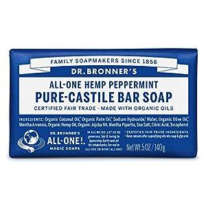 Dr. Bronners – Magic Pure-Castile Bar Soap O...