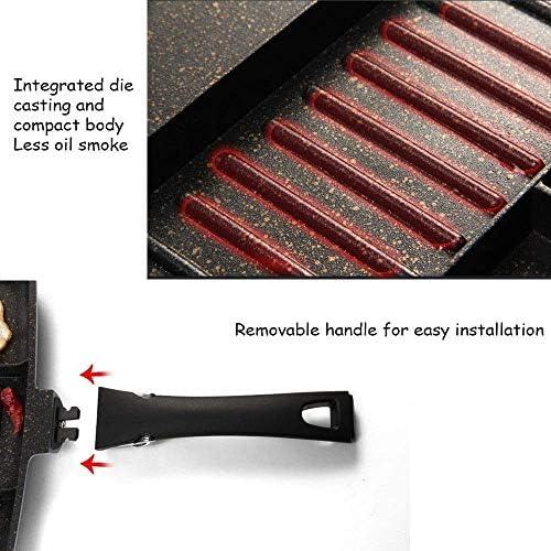 Non-Stick Frying Pan, Maifan Revêtement de pierre, assaisonné Place antiadhésifs for la cuisson, Cuisinière à induction Feu universel Xping