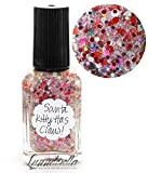 Lynnderella Limited Edition Red Multi Glitter Christmas Nail Polish—Santa Kitty Has Claus