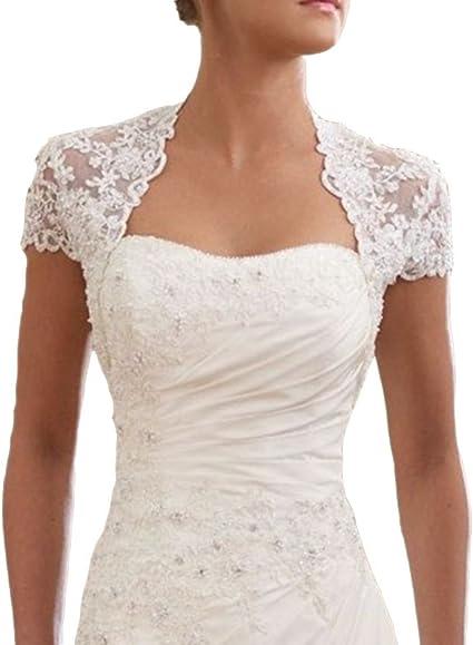 Bridal Lace Bolero