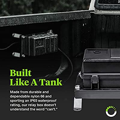 12V Auto Waterproof Fuse Relay Box Block [6 Bosch Style Relay Holder] [6 ATC/ATO Fuse Holder] Universal Relay Block Box for 12V Automotive Vehicles Cars Marine Boat Jeep Light Equipment: Automotive