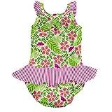 i play. Baby Girls' Ruffle Swimsuit with Swim