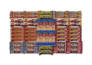 OxBox Care Package of Ultimate Sampler Mixed Bars, Cookies, Chips, Candy Snacks for Office, Meetings, Schools, Friends & Family, Military, College, Fun Variety Pack