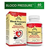 Terry Naturally Blood Pressure Health - 60 Vegan Capsules - Promotes Healthy Circulation & Blood Pressure Levels, Supports Smooth, Flexible Arteries - Non-GMO, Gluten-Free - 60 Servings