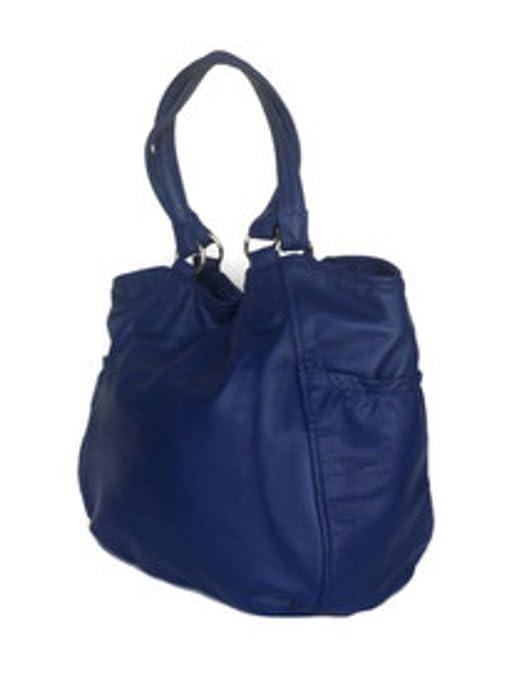 91e34ca0511d Fgalaze Indigo Blue Leather Tote, Oversize Bag, Shoulder Handbag, Handmade  Bags Lily