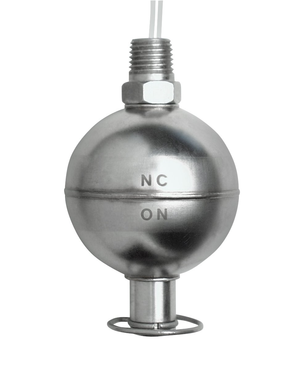 Madison M5600-PR Stainless Steel Full Size Liquid Level Switch, 100 VA SPST, 1/4 NPT Male, 500 psig Pressure