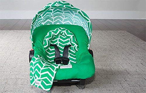 Carseat Canopy Whole Caboodle Jersey Stretch - Ezra ()