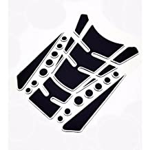 TKspeed Motorcycle Tank Gas Protector Pad Sticker Decal for Kawasaki ZX9R 2000-2003 ZX12R 2000-2005 ZX6R / ZX636R / ZX6RR 2000-2004 ZX10R 2004-2005 Z1000 2003-2006 VERSYS 1000 2012-2014 ZZR600 2005-2009 (A06#)