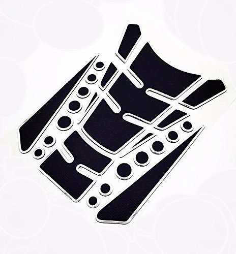 Niree Motorcycle Tank Gas Protector Pad Sticker Decal for Yamaha R6S CANADA VERSION 2007-2009 YZF R6 1999-2004 YZF R1 2002-2003 FZ1 FAZER 2001-2005 R6S USA VERSION 2006-2009 (A06#)